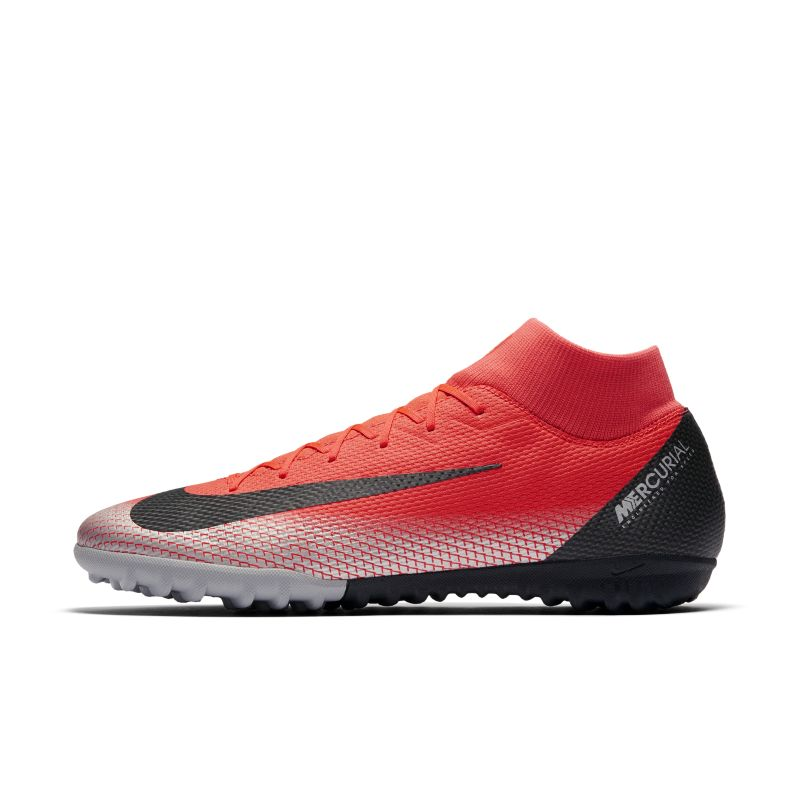 CR7 SuperflyX 6 Academy Artificial-Turf Football Boot - Red