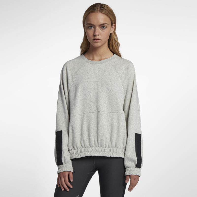 Hurley One And Only Dolman Fleece Women's Crew - Grey