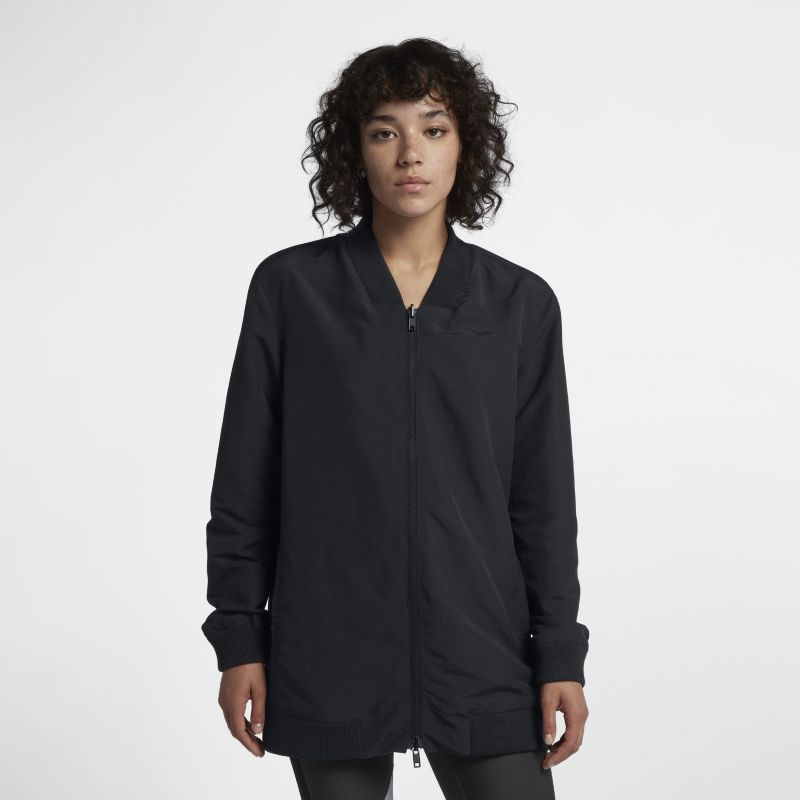 Hurley Reversible Bomber Tunic Women's Jacket - Black