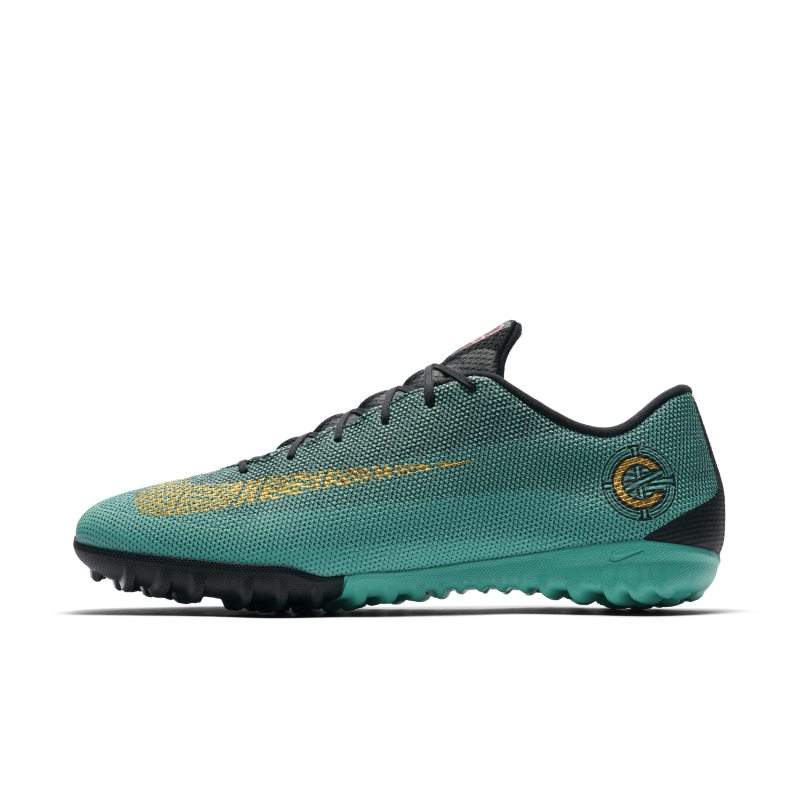 Nike MercurialX Vapor XII Academy CR7 Turf Football Shoe - Green