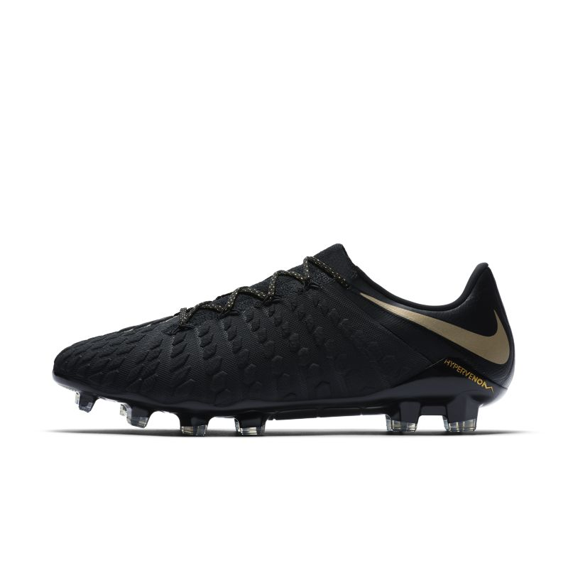 Nike Hypervenom III Elite Firm-Ground Football Boot - Black