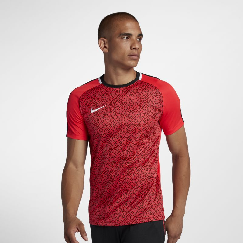 Nike Dri-FIT Academy Men's Short-Sleeve Football Top - Red