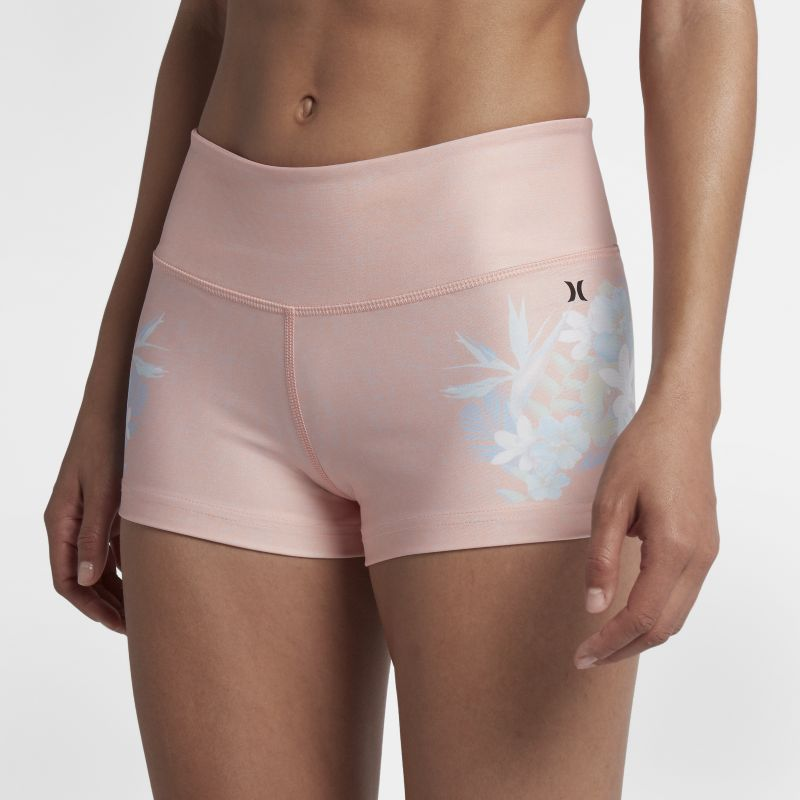 Hurley Floreal Women's 5cm Surf Shorts - Pink