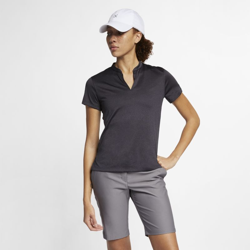 Image of Polo da golf Nike TechKnit Cool - Donna - Nero