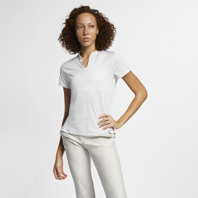 Image of        Polo da golf Nike TechKnit Cool - Donna - Bianco