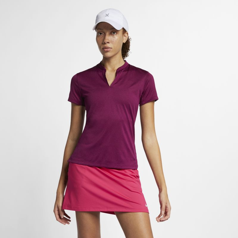 Image of Polo da golf Nike TechKnit Cool - Donna - Viola