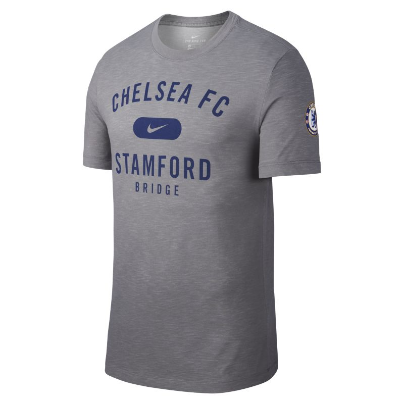 Nike Dri-FIT Chelsea FC Men's Football T-Shirt - Grey