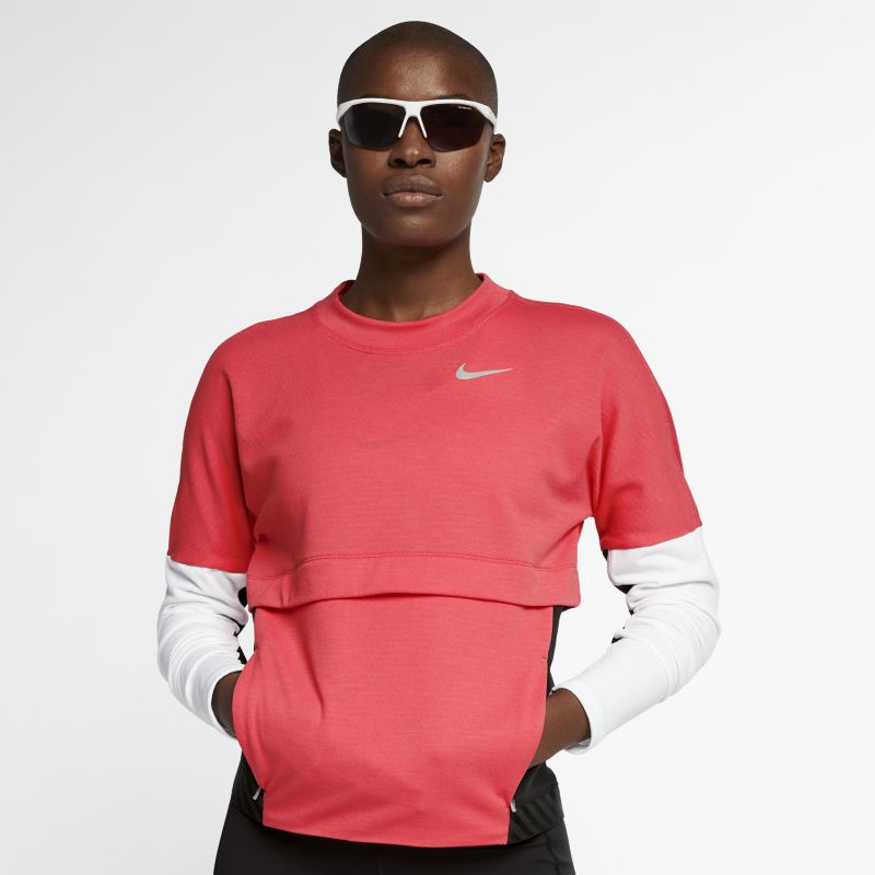 Image of Maglia da running Nike Therma Sphere - Donna - Red