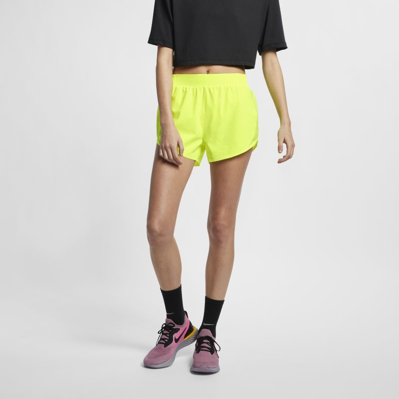 Nike Tempo Women's Running Shorts - Yellow