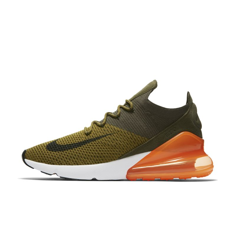 Nike Air Max 270 Flyknit Men's Shoe - Olive