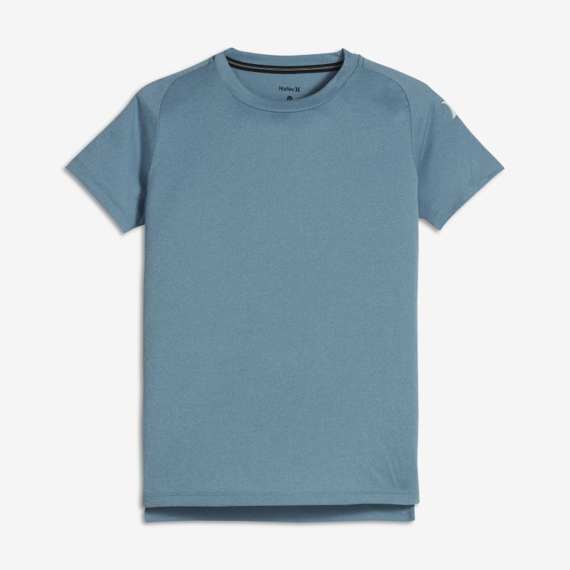 Hurley Icon Quick Dry Older Kids'(Boys') Surf Top - Blue