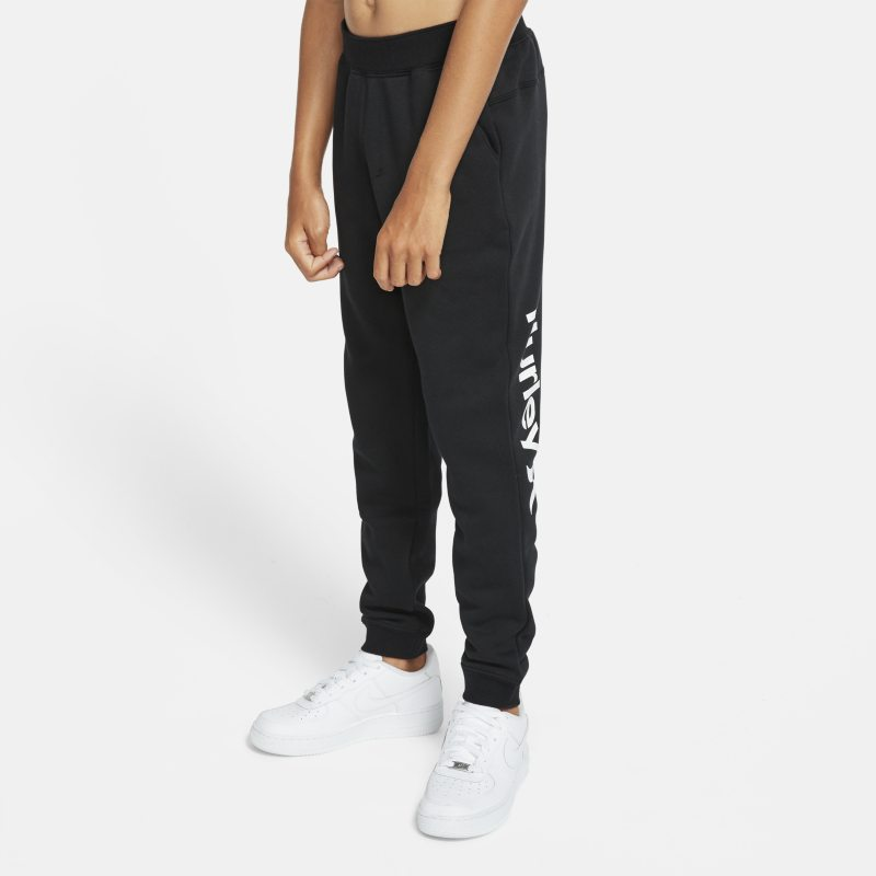Hurley Surf Check One And Only Older Kids'(Boys') Track Trousers - Black