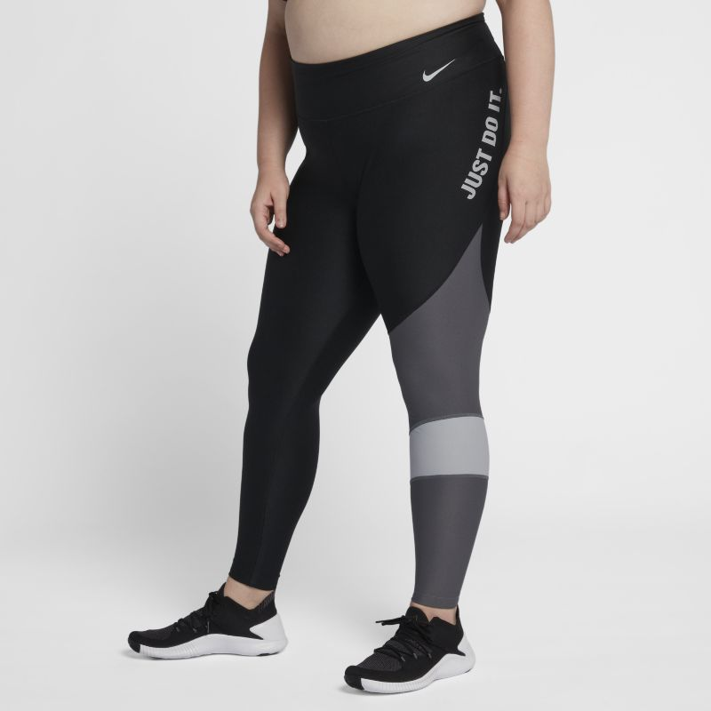 Image of Nike Plus Size - Tights da training Power - Donna - Nero