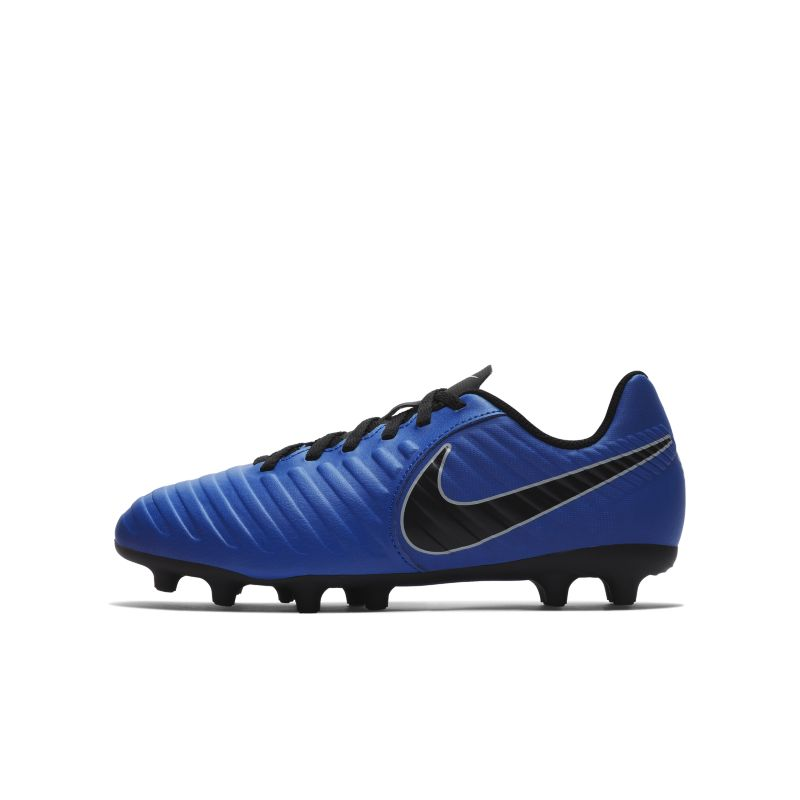 Nike Jr. Tiempo Legend VII Club Toddler/Younger Kids' Firm-Ground Football Boot - Blue