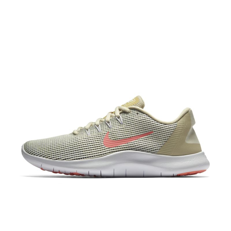 Nike Flex 2018 RN Summer Women's Running Shoe - Cream