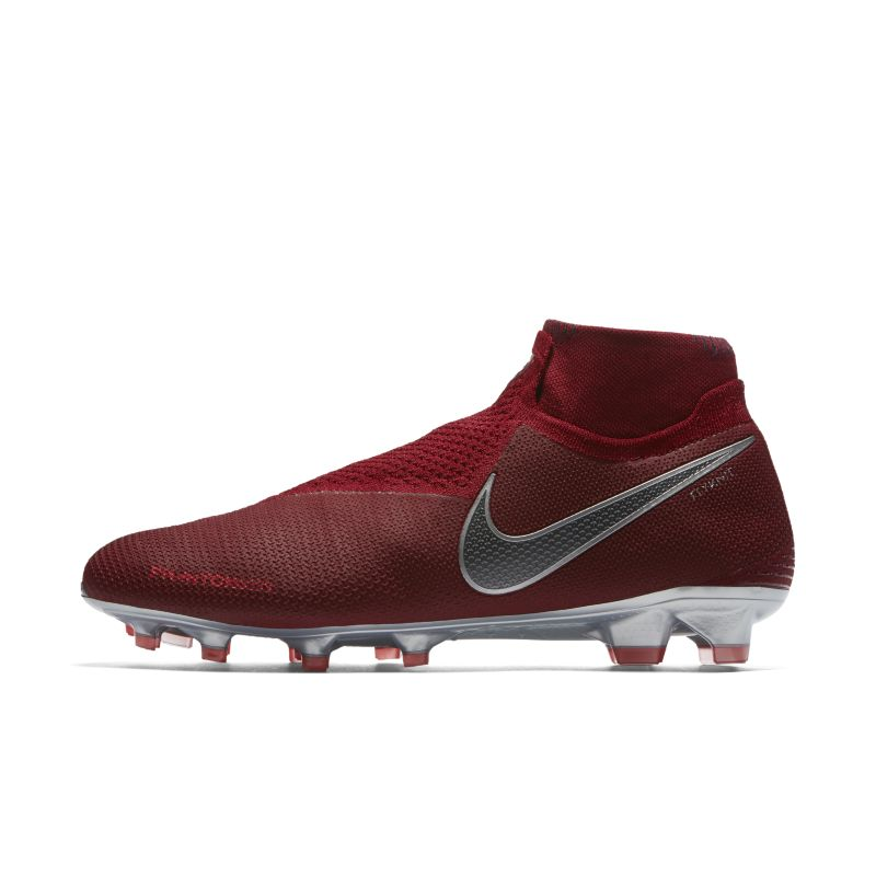 Nike Phantom Vision Elite Dynamic Fit Firm-Ground Football Boot - Red