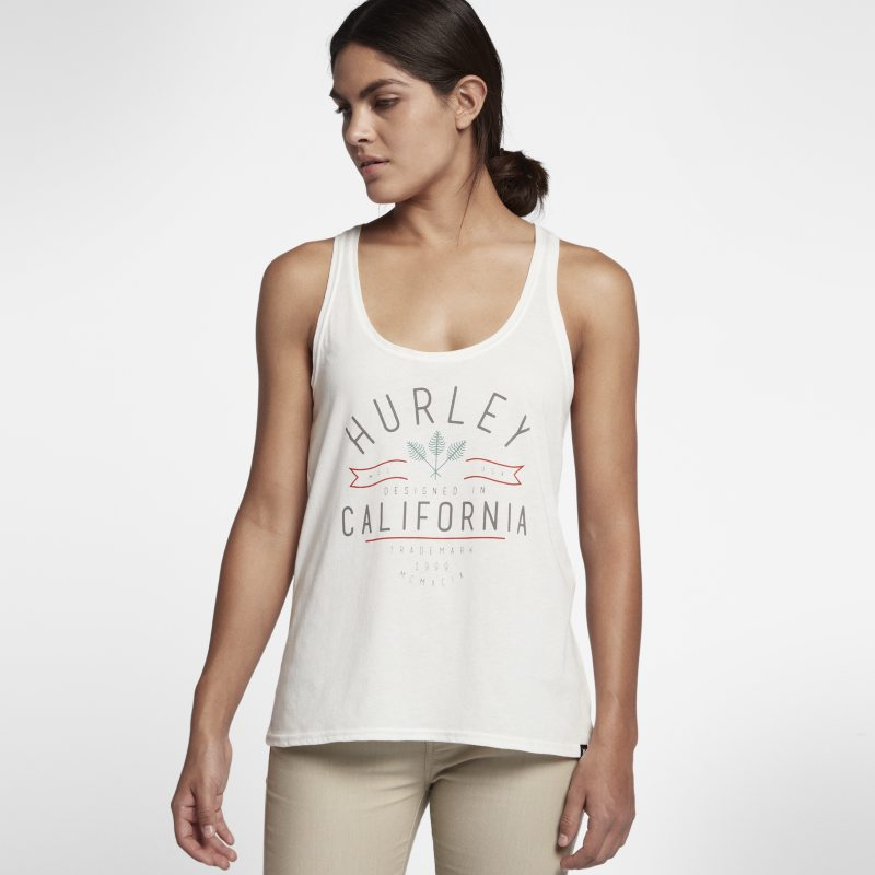 Hurley Cali Vibes Perfect Women's Tank - Cream