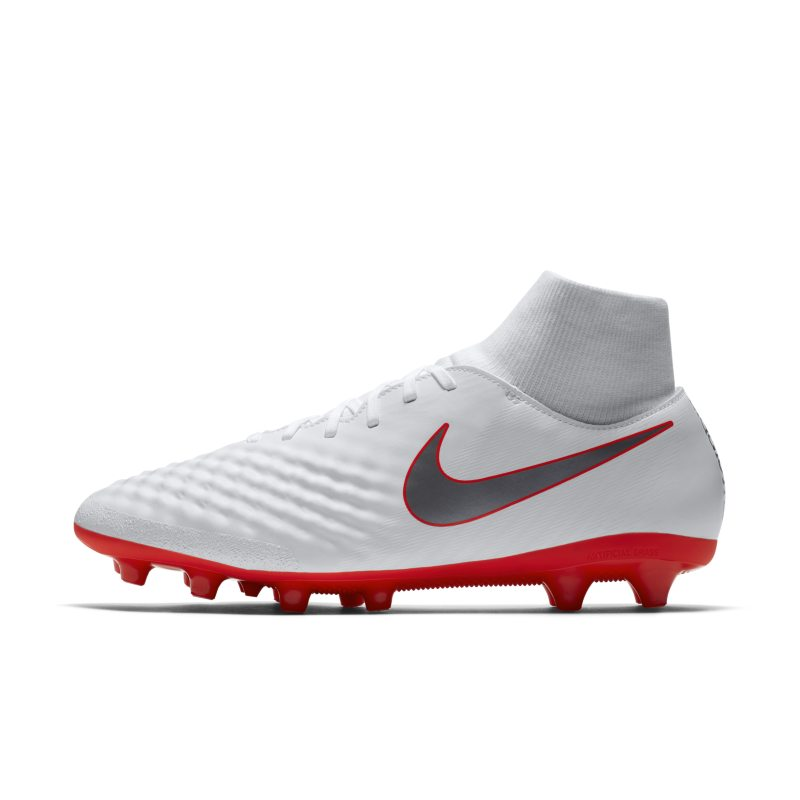 Nike Magista Obra II Academy Dynamic Fit AG-PRO Artificial-Grass Football Boot - White