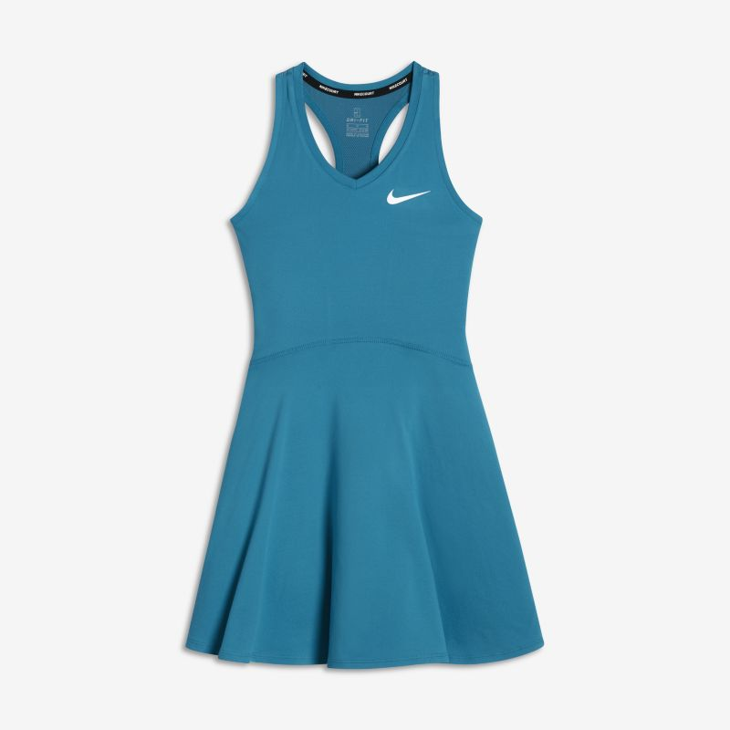 NikeCourt Pure Older Kids' (Girls') Tennis Dress - Blue