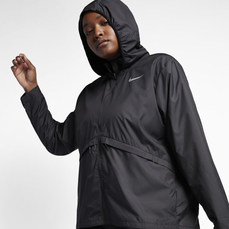 Image of Nike Plus Size - Giacca da running Essential - Donna - Nero
