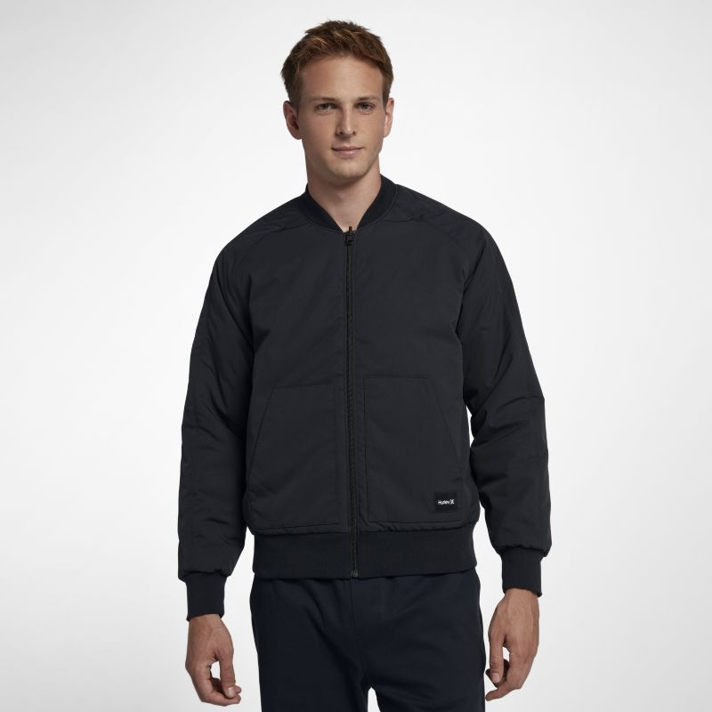 Hurley Indo Souvenir Reversible Men's Jacket - Black