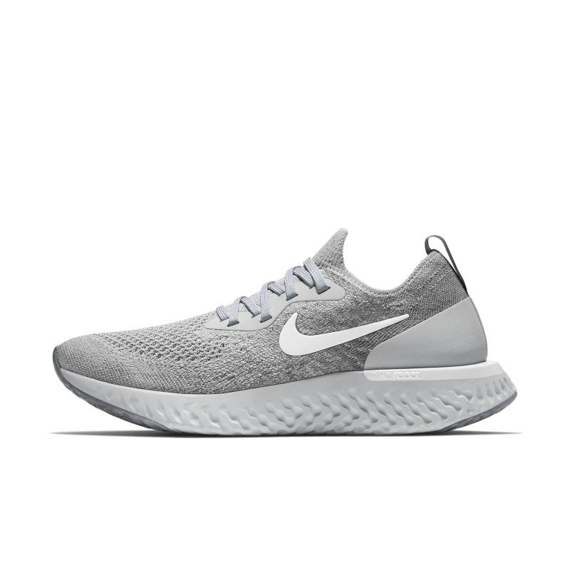 Nike Epic React Flyknit Women's Running Shoe - Grey