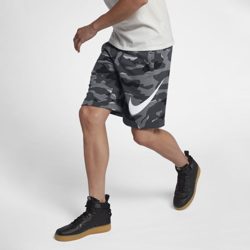 Nike Sportswear Men's Camo Shorts - Grey