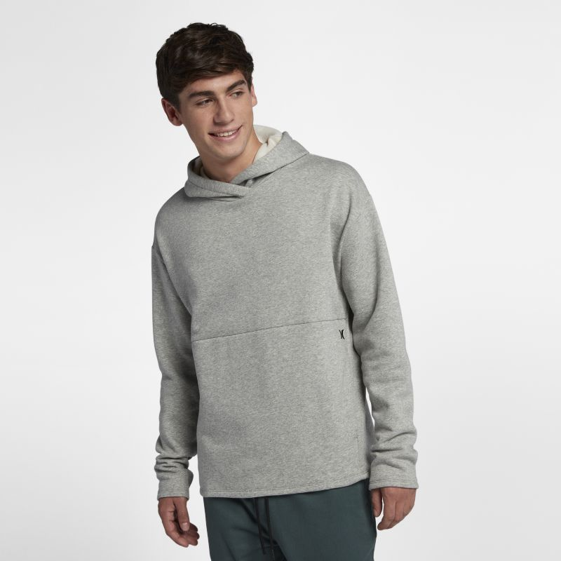 Hurley Surf Check Icon Men's Pullover Hoodie - Grey