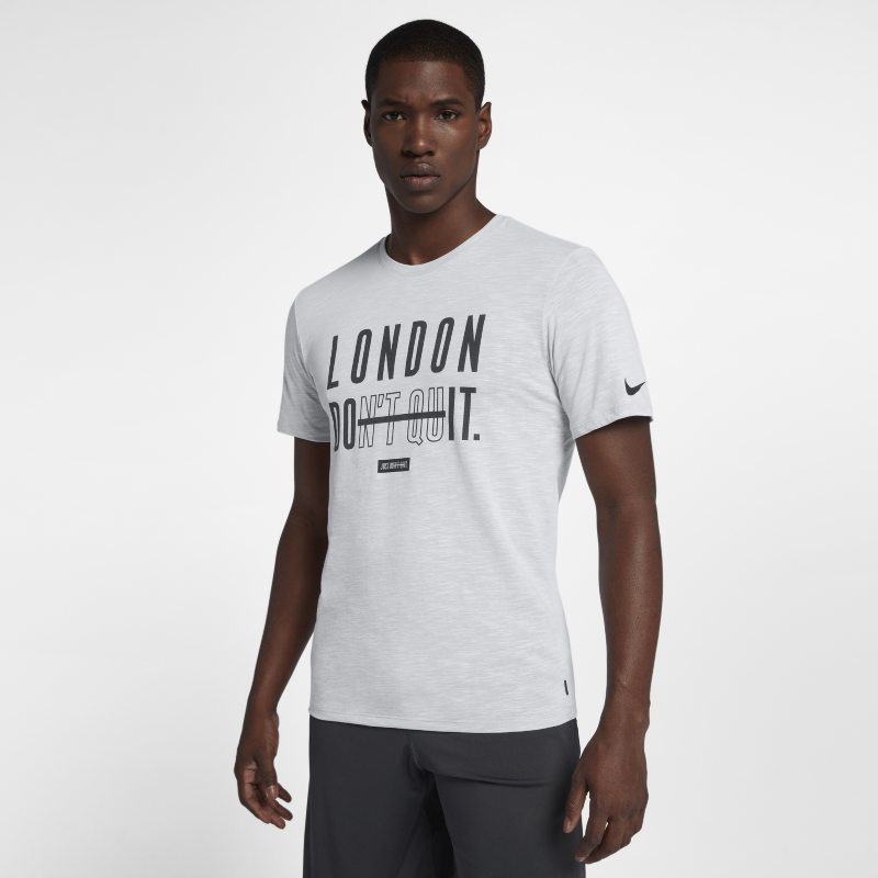Nike Dri-FIT (London) Men's Training T-Shirt - White