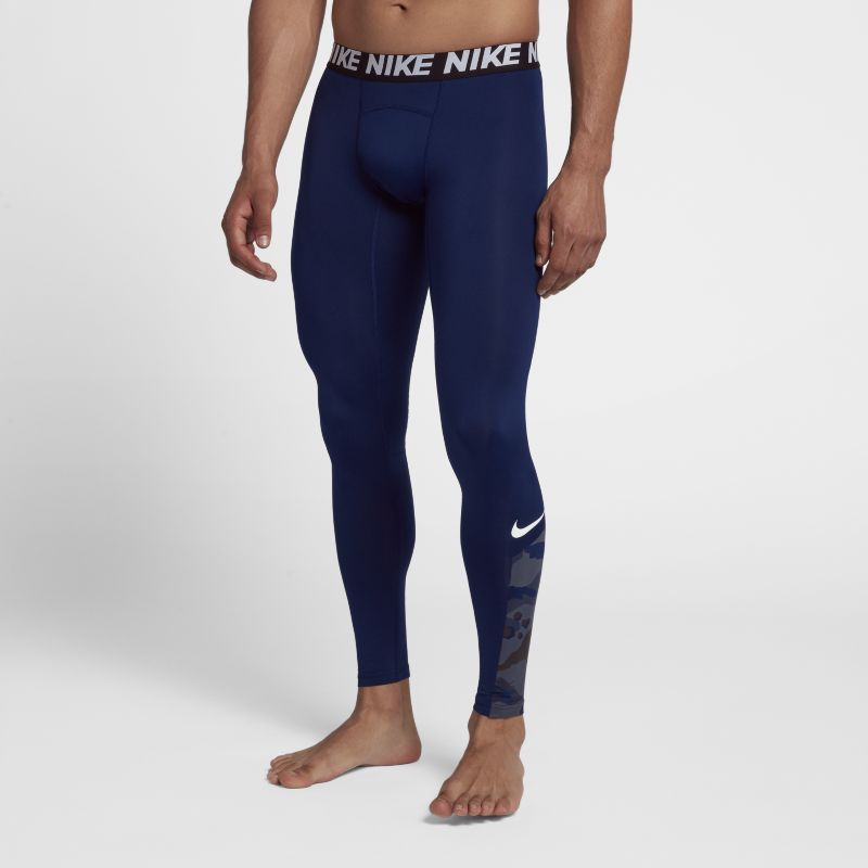 Nike Baselayer Men's Training Tights - Blue
