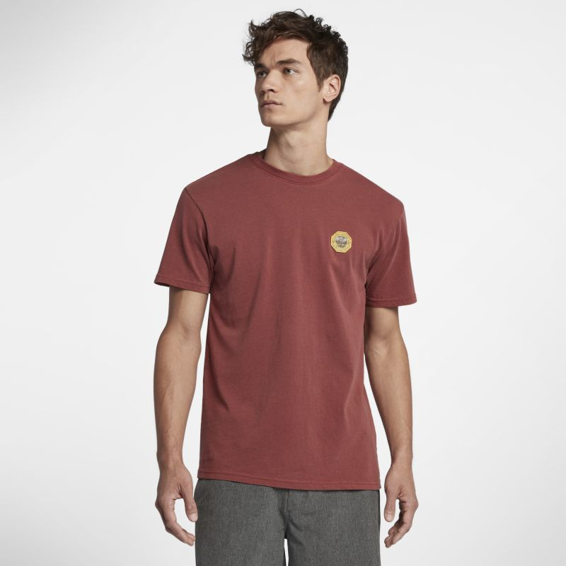 Hurley Pendleton Yellowstone Patch Men's T-Shirt - Red
