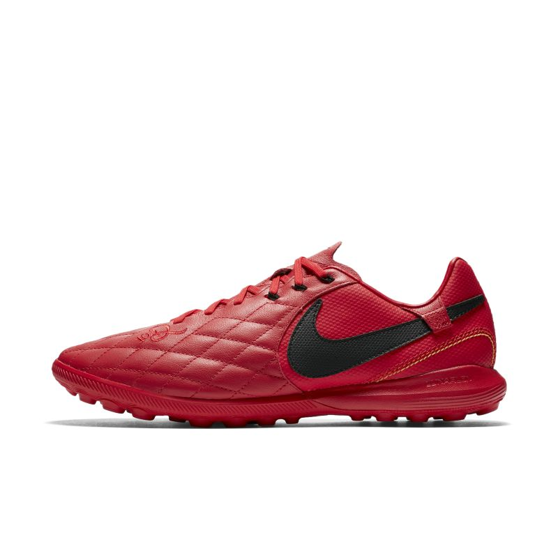 Nike TiempoX Lunar Legend VII Pro 10R Artificial-Turf Football Shoe - Red