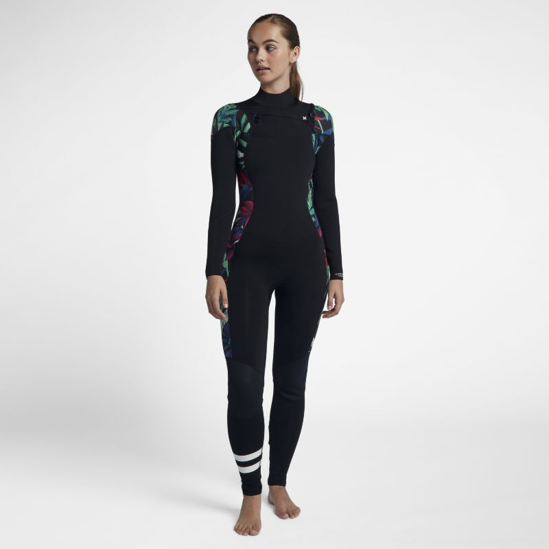 Hurley Advantage Plus 3/2mm Tropics Fullsuit Women's Wetsuit - Black