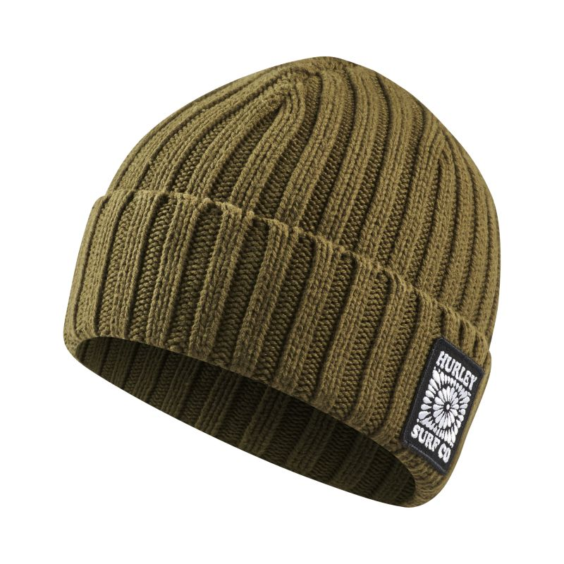 Image of Beanie Hurley Dose - Uomo - Olive