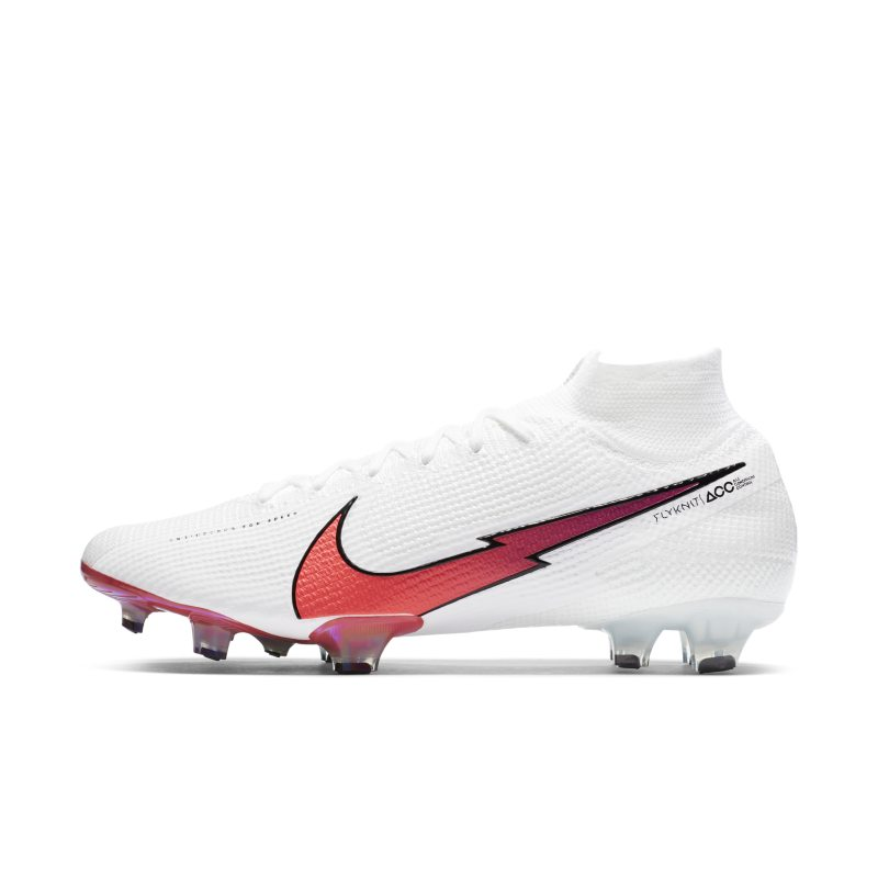 Nike Mercurial Superfly 7 Elite FG Firm-Ground Football Boot - White