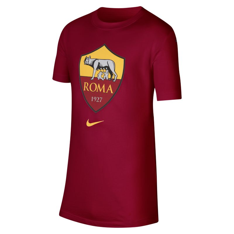 Image of T-shirt AS Roma - Ragazzi - Red