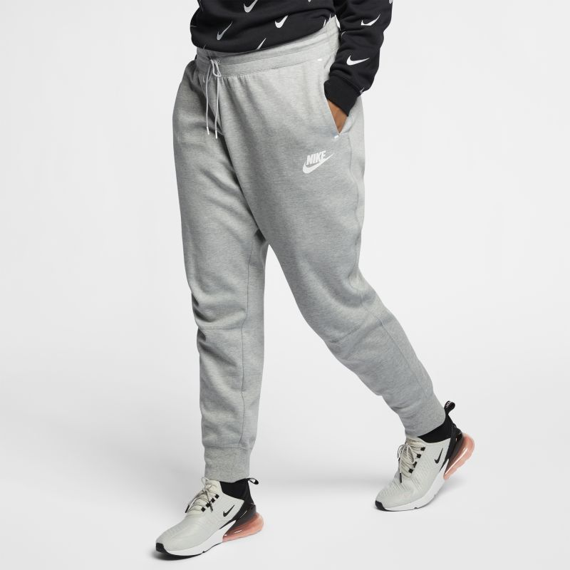 Nike Plus Size - Sportswear Tech Fleece Women's Trousers - Grey