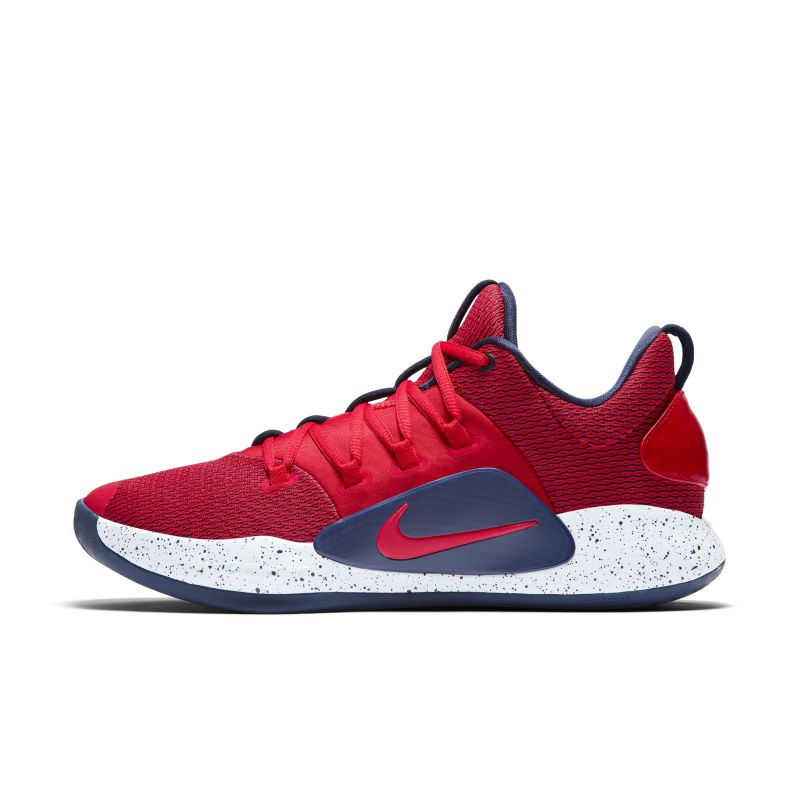 Nike Hyperdunk X Low Basketball Shoe - Red