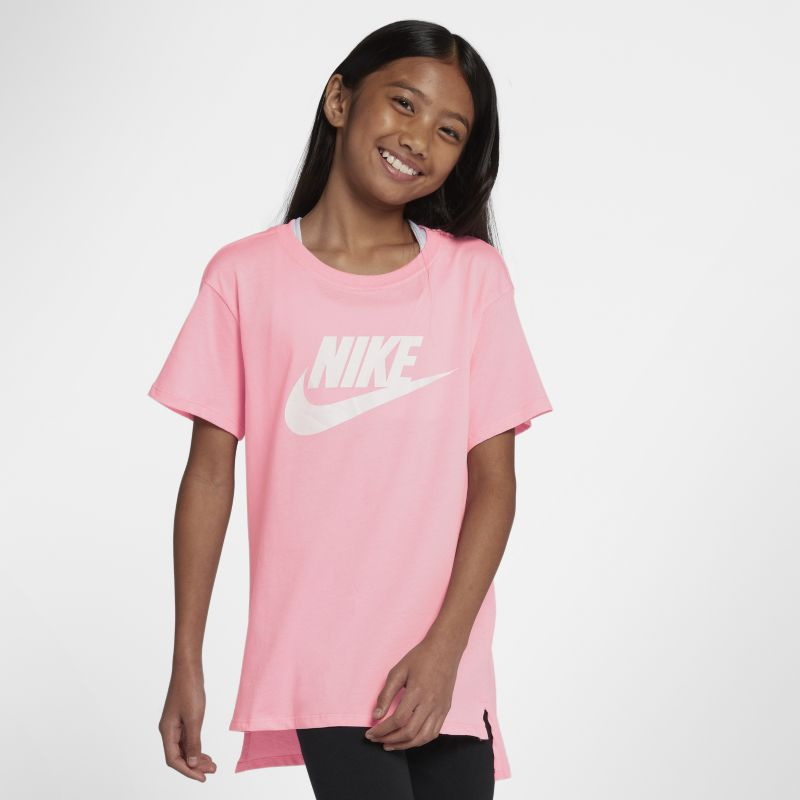 Nike Sportswear Older Kids'(Girls') T-Shirt - Pink