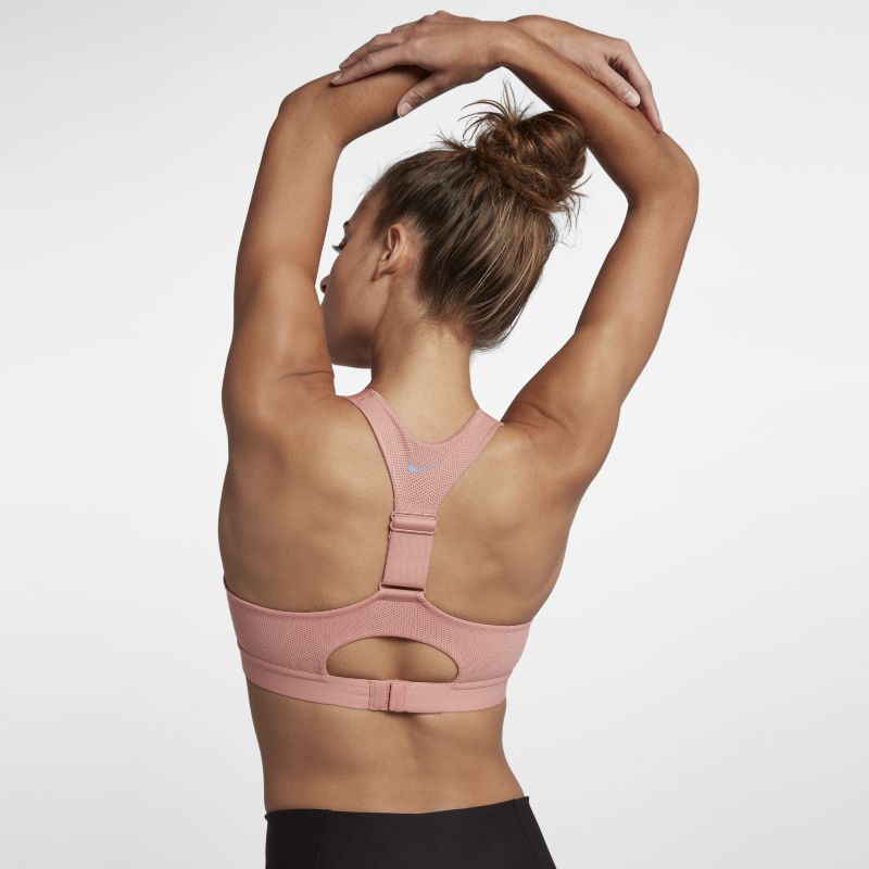 Nike Pacer Women's High-Support Sports Bra - Pink