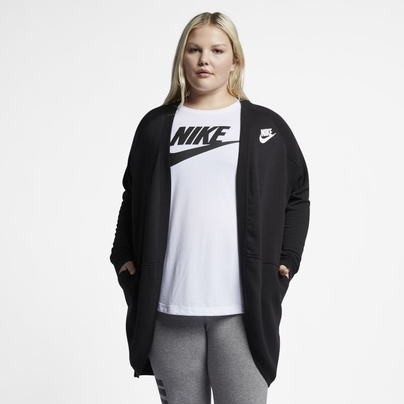 Nike Plus Size - Sportswear Rally Women's Cardigan - Black