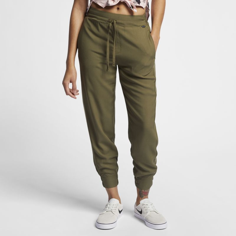 Image of Pantaloni Hurley Beach - Donna - Olive