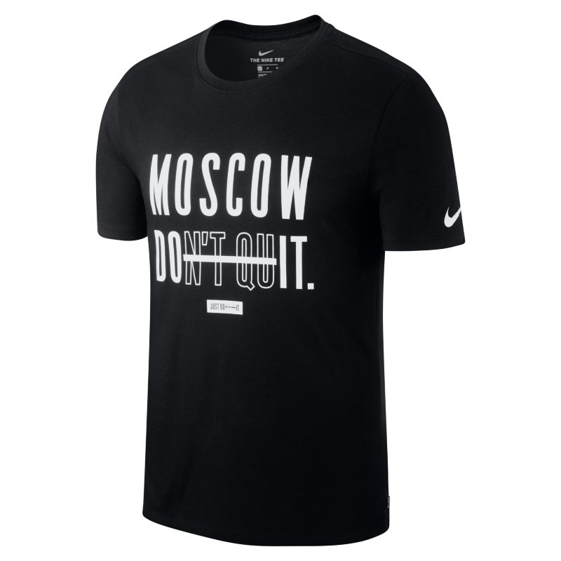 Nike Dri-FIT (Moscow) Men's Training T-Shirt - Black