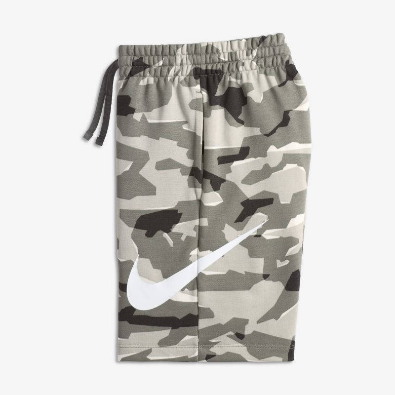 Nike Sportswear Older Boys'Camo Shorts - Cream