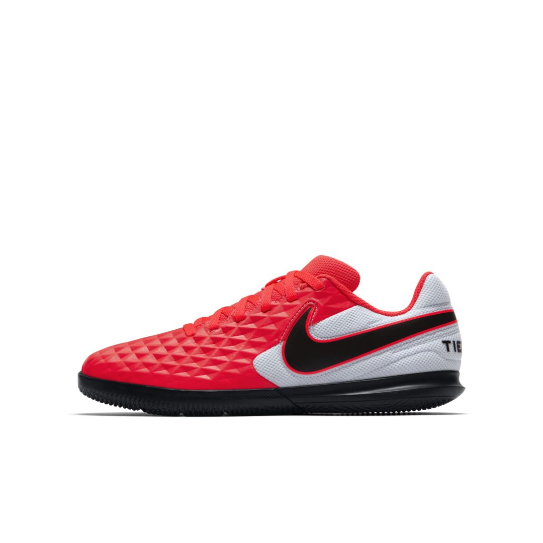 reptiles aplausos Entrada  Nike Jr. Tiempo Legend 8 Club Ic Little/big Kids Indoor/court Soccer Shoe  In Red | ModeSens