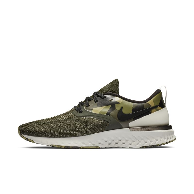 Nike Odyssey React Flyknit 2 Men's Graphic Running Shoe - Olive