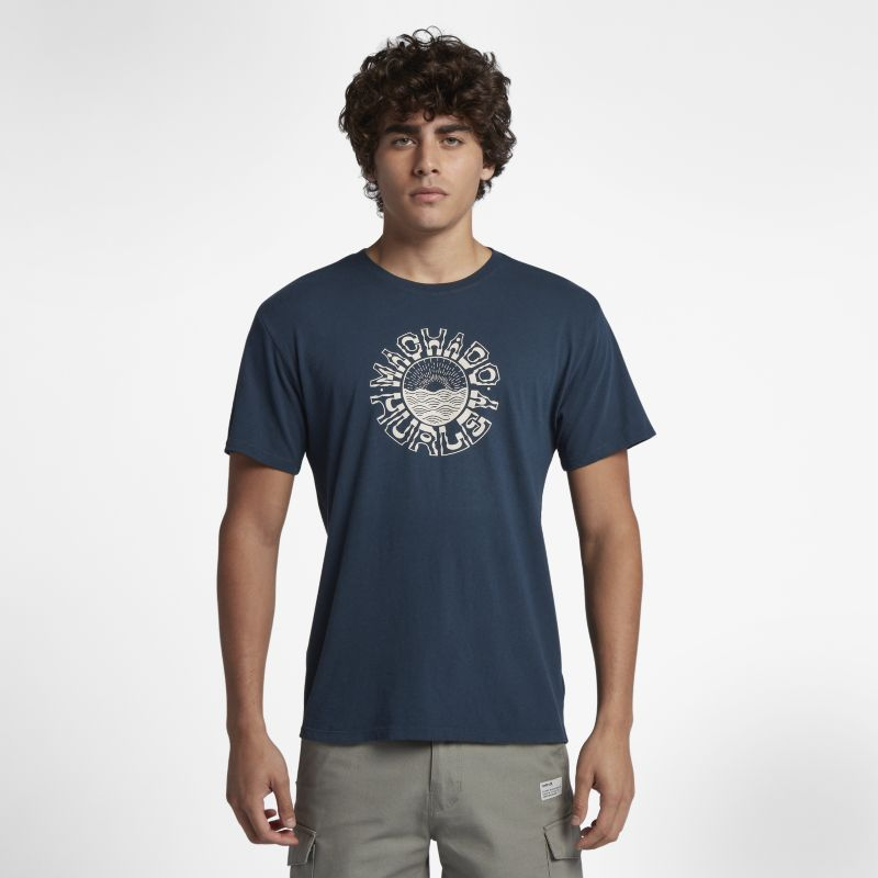 Hurley Machado Sun Men's T-Shirt - Blue
