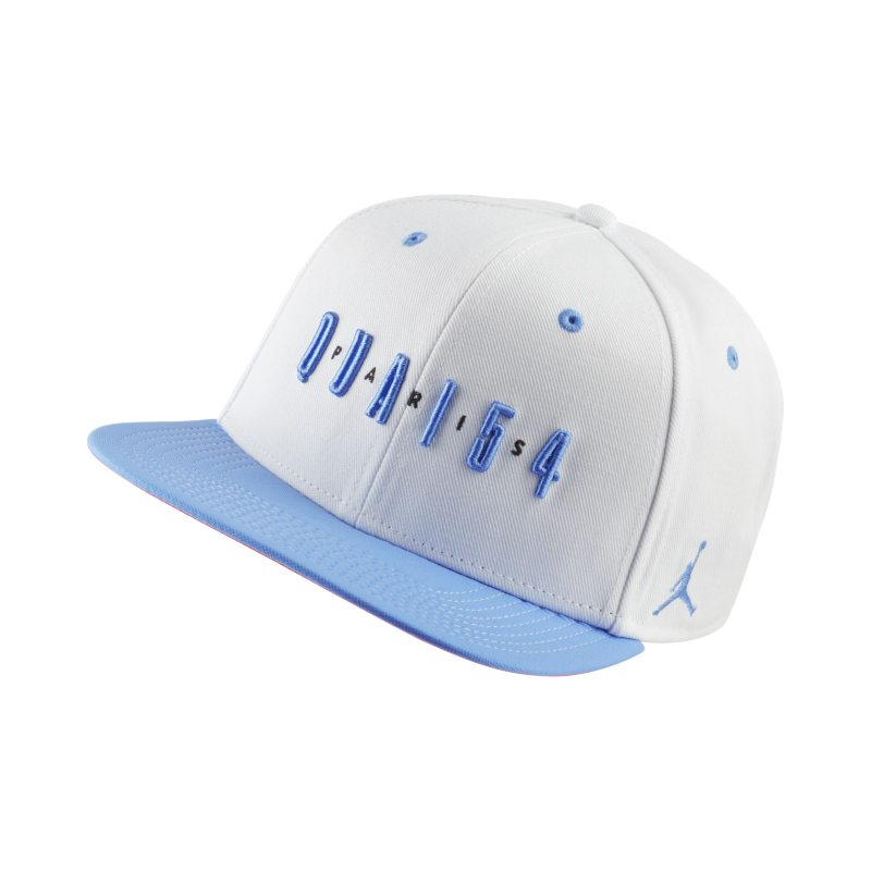 Jordan Quai 54 Snapback Adjustable Hat - White