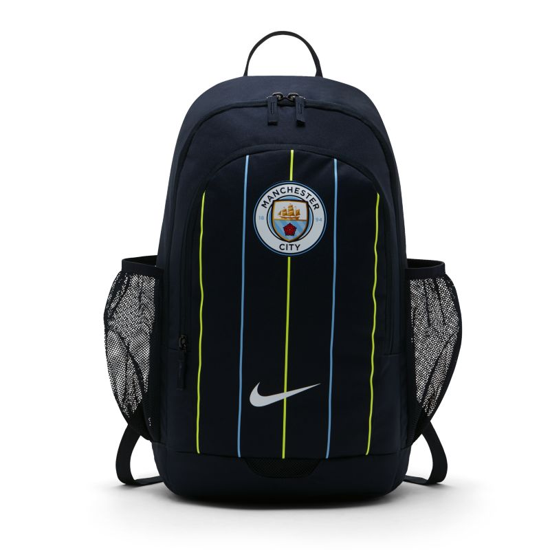 Manchester City FC Stadium Football Backpack - Blue
