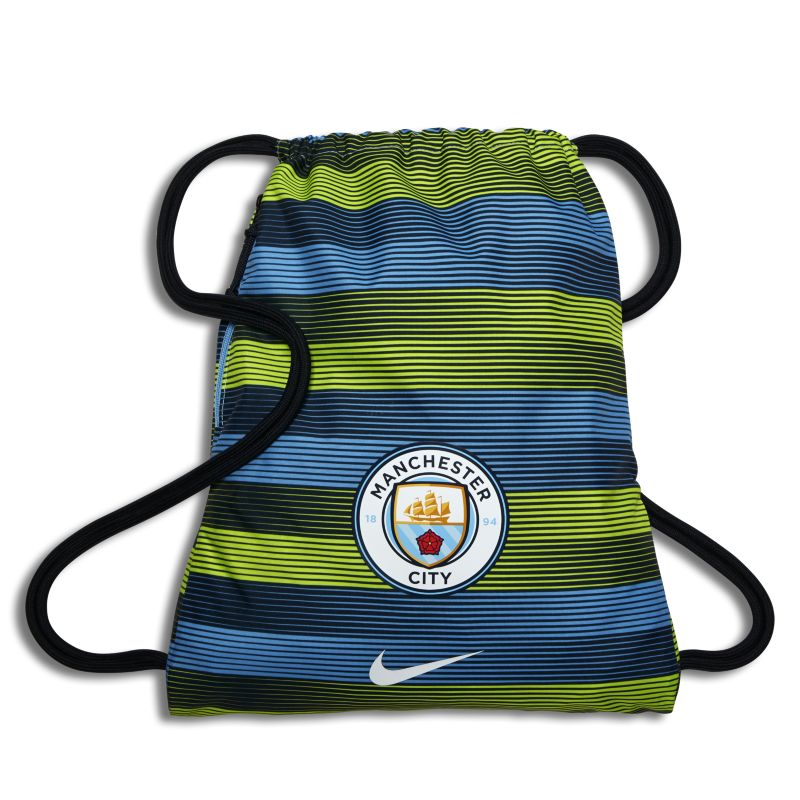Manchester City FC Stadium Football Gymsack - Blue